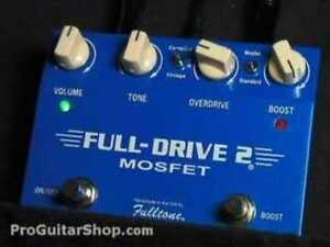 Overdrive - Wah - Tuner - Boost + Comp