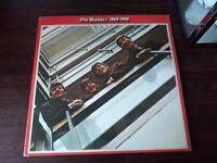 FREE Glasgow delivery-The Beatles.Red album.PCSP Stereo.Double lp PLUS The Beateles BLUE album.