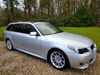 BMW 530 3.0TD Automatic M Sport Touring Rare Model with Elec Panoramic Roof.