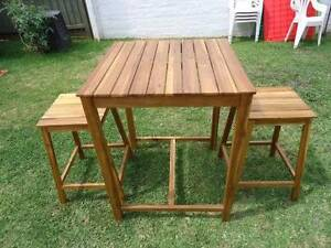 Breakfast Bar Table and Stools Denistone East Ryde Area Preview