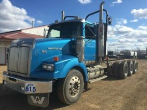 2003 Western Star triaxle chassis