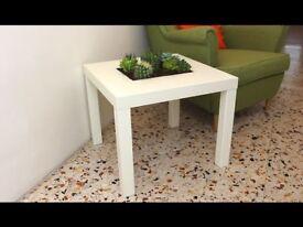 IKEA LACK WHITE SIDE TABLE