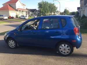 2004 Chevrolet Aveo Berline automatique