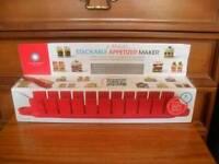Five minute stackable appetizer maker