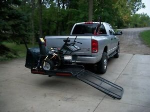 snow blower and scooter carrier