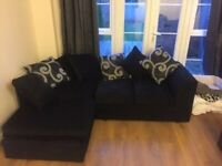 `` BARCELONA CHENILLE FABRIC `` CORNER SOFA OR 3+2 SOFA SET AVAILABLE NOW IN STOCK