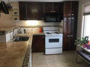 3 Bedroom Mainfloor with walkout to large backyard