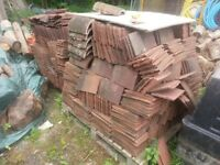 2 Pallets of clay plain roof tiles