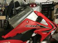 Honda Crf - Cr alloy fuel tank