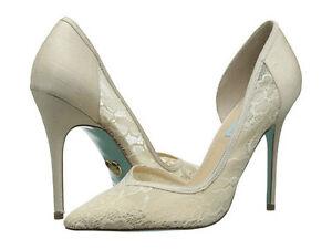 Blue by Betsey Johnson PERFECT WEDDING SHOES