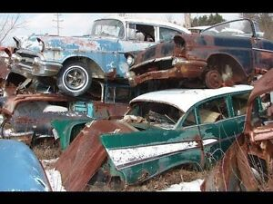 ISO: BROKEN/WRECKED CLASSIC VEHICLES!