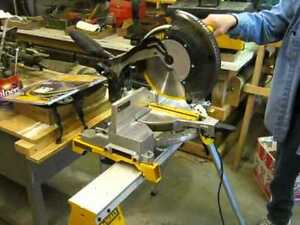 12 inch DeWalt miter saw  with stand