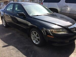 2004 MAZDA 6 GS , AUTOMATIQUE --négo-