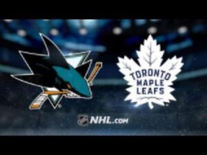 San Jose Sharks at Toronto Maple Leafs Nov 28