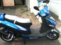 Lexmoto gladiator 125 cc. 2013 plate