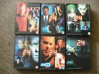 24 dvd's