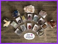 Himalayan Salt Lamps, Essential Oils, Crystals, Dream Catchers..