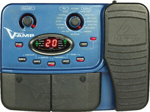 pedale behringer v-amp