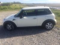 mini one pepper white 1.4 petrol