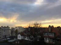 Light, 2nd Floor Furnished Bedsit in Central Brighton