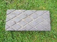 Reclaimed Staffordshire Blue Victorian Criss Cross Paviors Pavers Bricks