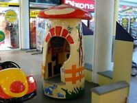 Musical Mushroom coin operated kiddie ride