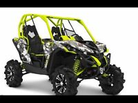 Only a FEW Remain! 2015 Can-Am Side by Sides
