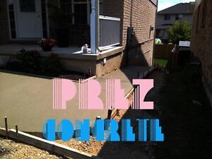 BOOK YOUR SPOT FOR SPRING! CONCRETE DRIVEWAYS+PATIOS + WALKWAYS Kitchener / Waterloo Kitchener Area image 3