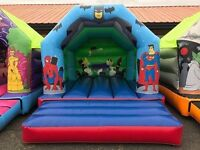 super hero castle hire