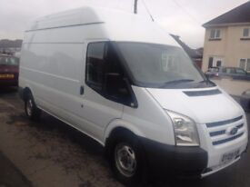 2009/09 FORD TRANSIT 2.4 LWB HIGH ROOF 110V PTO CONVERTER GENERATOR 70K * NO VAT * NEW CLUTCH