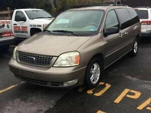 2004 FORD FREESTAR ,AB ACTIVE, EXCELLENT FAMILY VAN !!!
