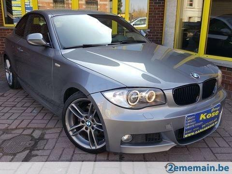 bmw 1-serie 118 d !!!1proprietaire +pack m+gps +xenon !!!