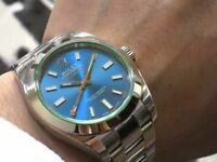 rolex milgauss.gmt.ii a.a.a box and papers available