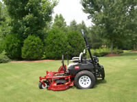Lawn Care Season Special Book early and save{ $500.00} Special