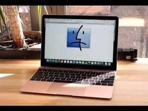Macbook rose gold 12inch