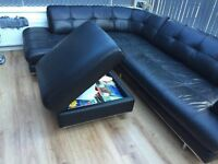 Sofa, chair and buffet