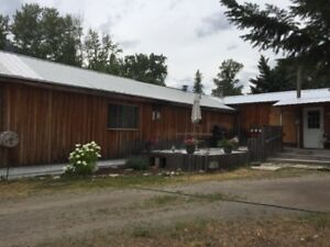 2 to 3 bedroom mobile on private, park like 4.5 acres