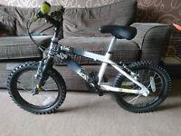 "Boys Raleigh Zero 16"" aluminium bike 2015"