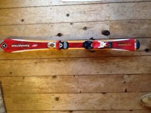 Kids ski equipment