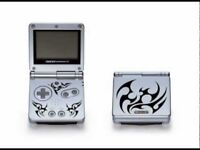 Gameboy advance sp tribal with charger headphones and box excellent condition £35