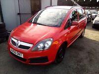 Vauxhall Zafira 1.6 2006 7 Seater MOT TILL June 2017 Starts And Drives Quick Sale