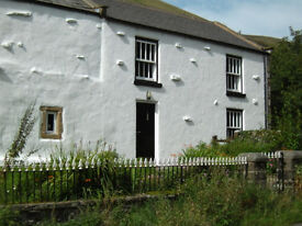 Rural holiday cottage within Yorkshire Dales national park among the Sedbergh Howgills