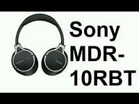 Sony MDR-10RBT, NFC, Bluetooth headphones, Hi Res,