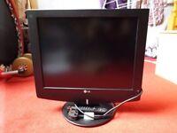 LG TV/ computer screen.