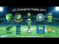 ICC Champions trophy GOLD tickets