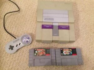 Super Nintendo with Mario All-stars, Donkey Kong Country