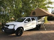 Holden Colorado 4x4 Double Cab Flat Tray Exeter West Tamar Preview