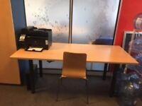 Free wooden wardrobe & desk