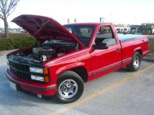 Wanted 1991 to 98 chev 2wd shortbox