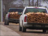 Pickup Truck Firewood Sale »»Fule up on the Weekends And $ave
